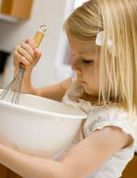 Children Cook Teaching Healthy Diets