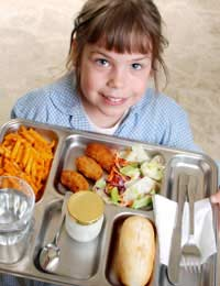 Junk Food Fast Food Schools Healthy Kids